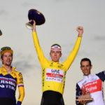 Podio del Tour de France 2020